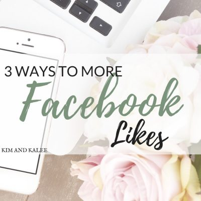 3 Ways to More Facebook Likes