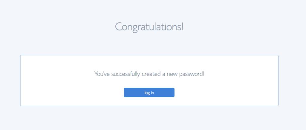 Congratulations Screenshot