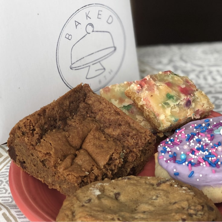 Cookies Blondie and a Chess Bar