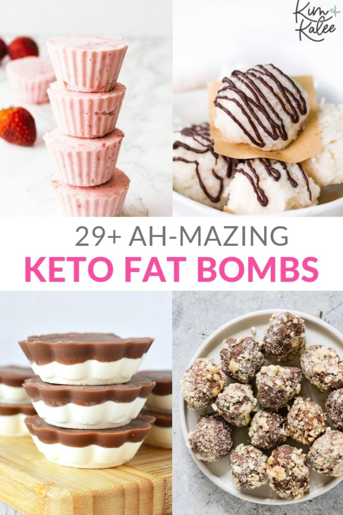 Favorite Low Carb and Keto Fat Bombs