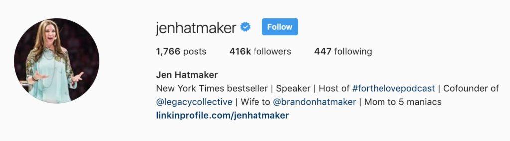 Jenhatmaker Bio