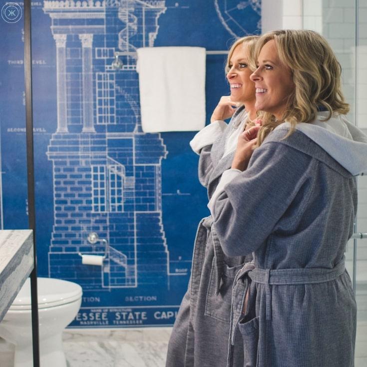 Kimpton Aertson in Midtown Nashville Bathroom and Robe