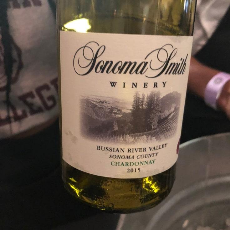 Lipton Wines Sonoma Smith Winery's Charonnay