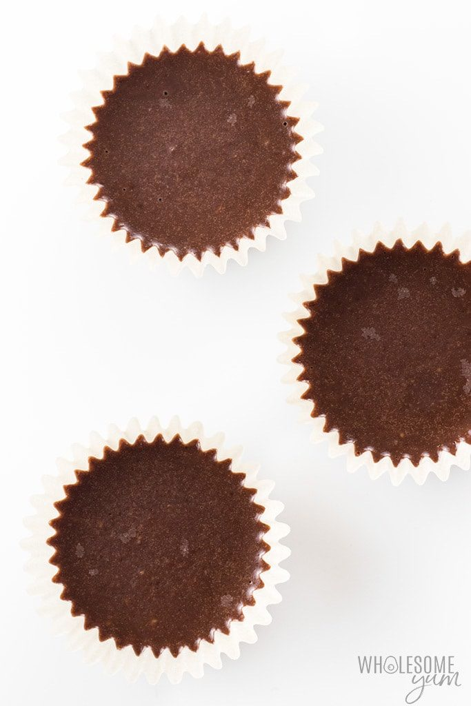 Double Chocolate Cups