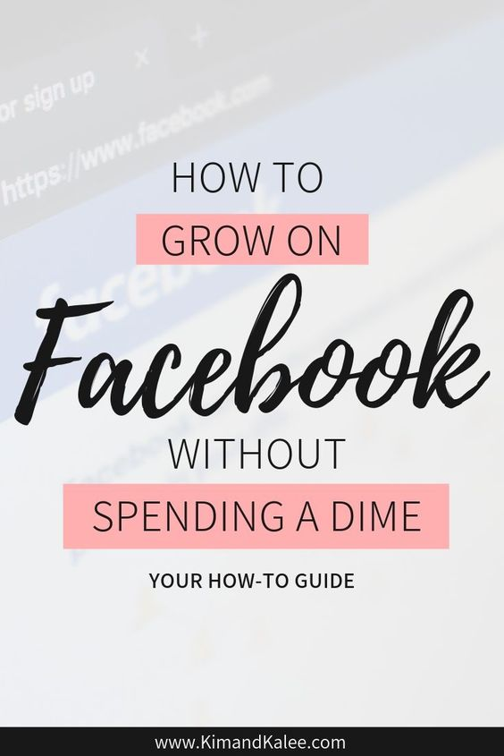 How to Grow on Facebook Pinterest Pin