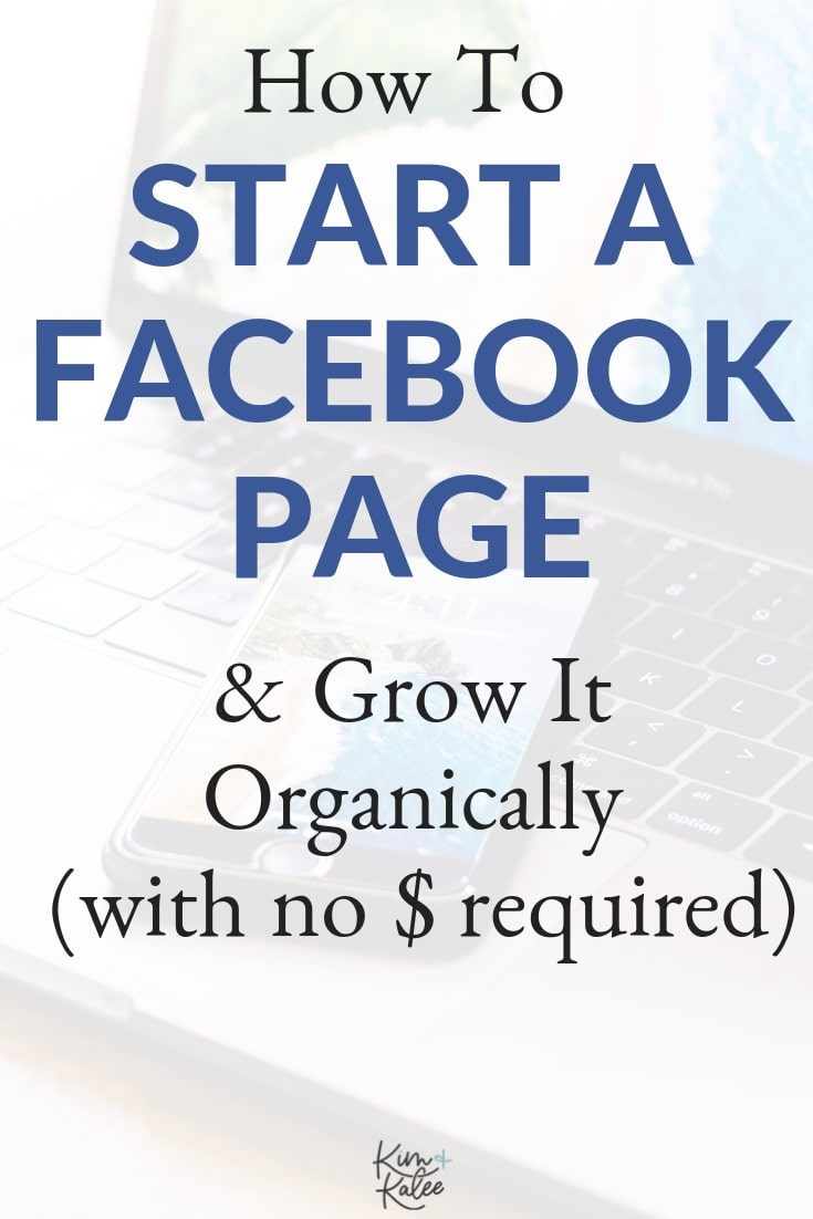 How to make a Facebook business page and grow it organically