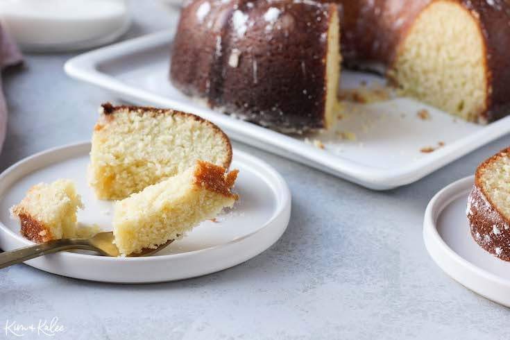 Moist Kentucky Butter Cake Recipe