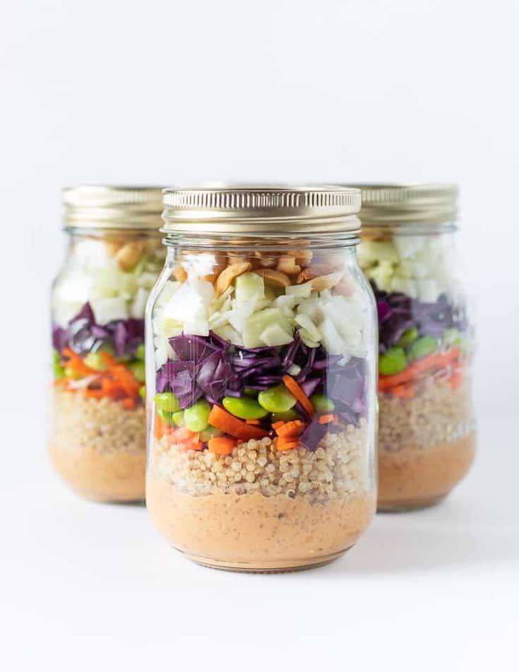 Peanut Crunch Salad