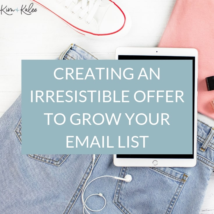 lead magnet to grow email list
