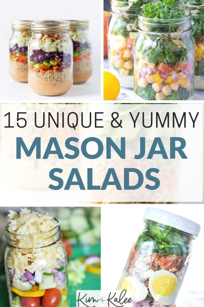 15 amazing mason jar salads