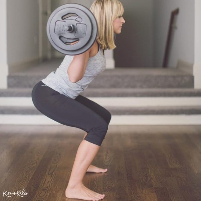 Body Pump at home les mills on demand