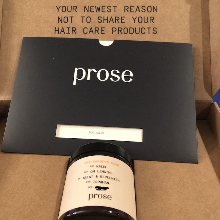 Prose Custom Pre Shampoo Mask Review