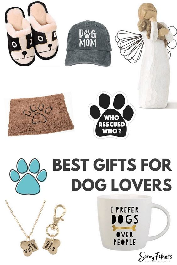 dog person gift guide pin