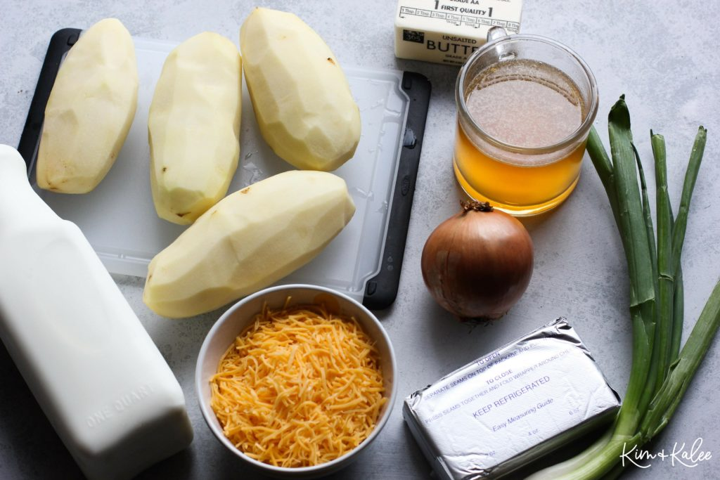 Ingredients for Potato Soup