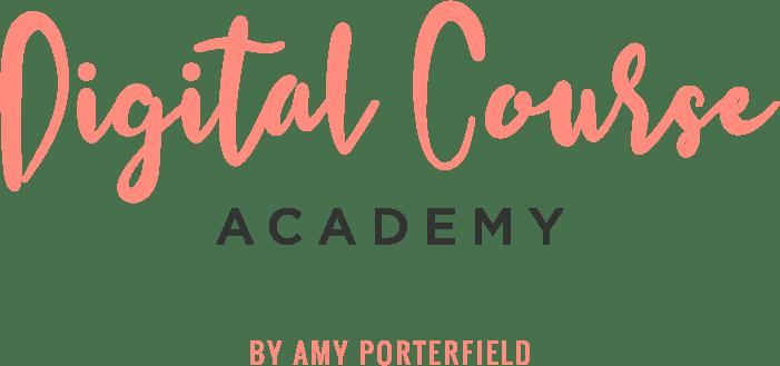 Amy Porterfield's Digital Course Academy Logo