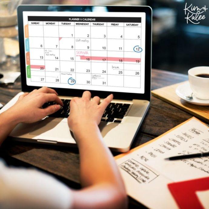 Time Blocking Calendar