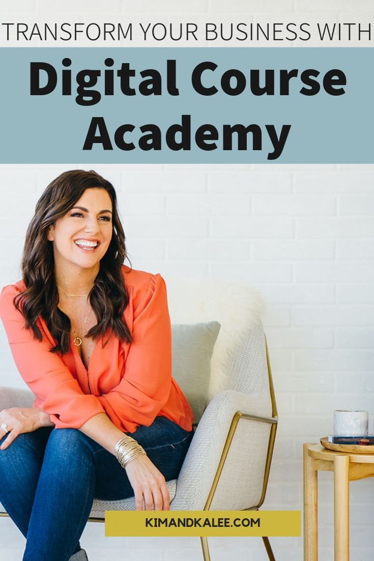 amy porterfield's digital course academy pin