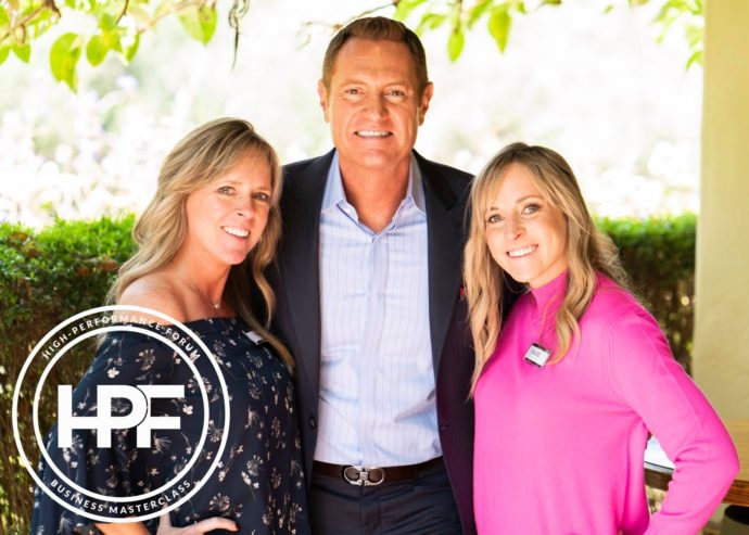 Darren Hardy with Kim and Kalee