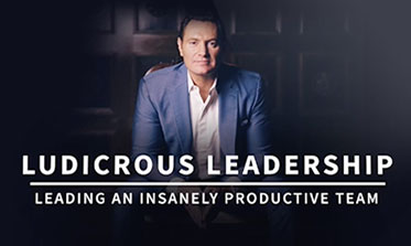 Darren Hardy with the words Ludicrous Leadership