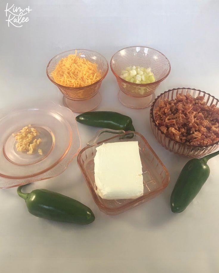 Keto Jalapeños Poppers Ingredients