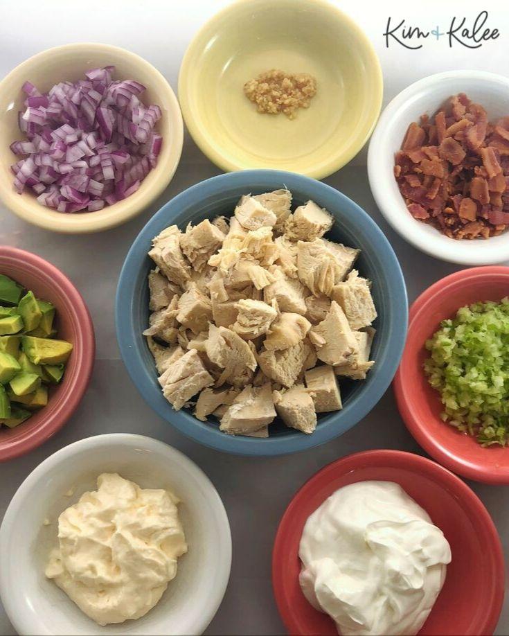 Keto Chicken Salad Ingredients