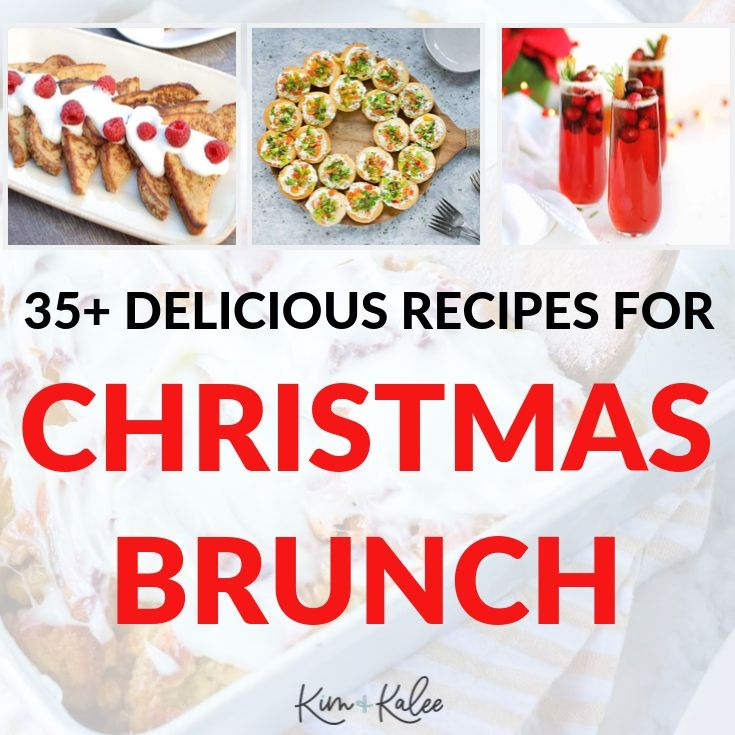Collage of Christmas Brunch Recipes