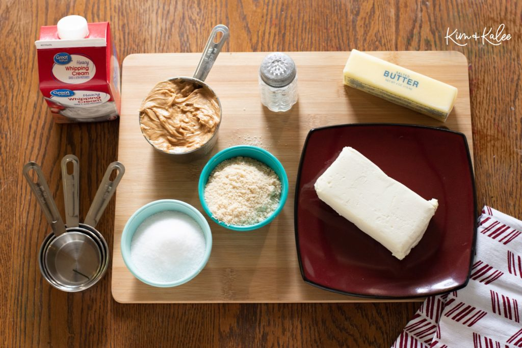 Keto Peanut Butter Pie Recipe Ingredients