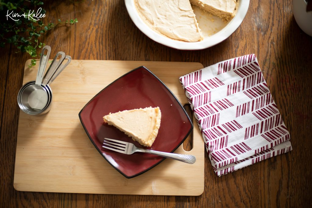 Slice of Keto Peanut Butter Pie
