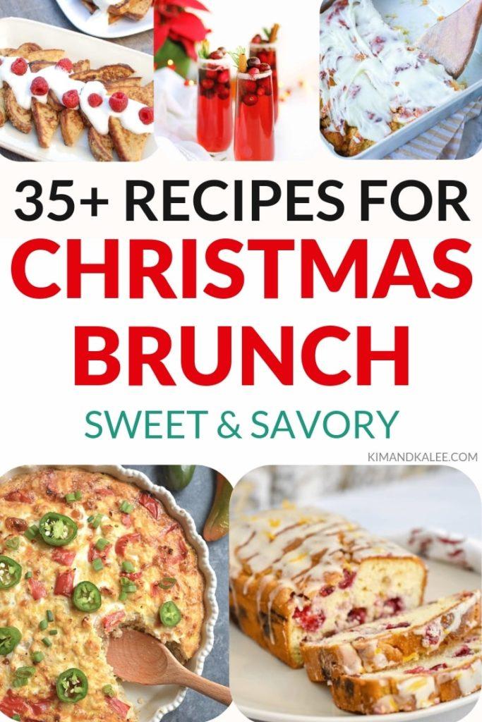 Christmas brunch ideas
