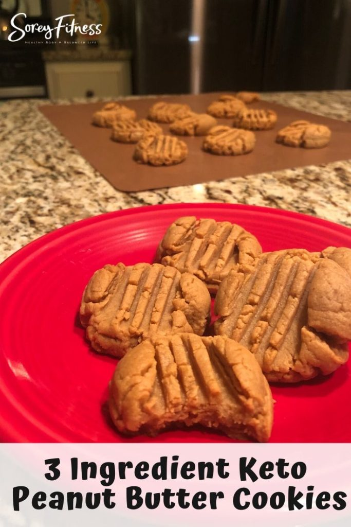 Keto Peanut Butter Cookies Tray