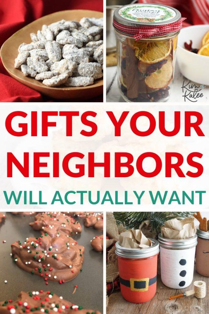 Neighbor Christmas Gift Collage