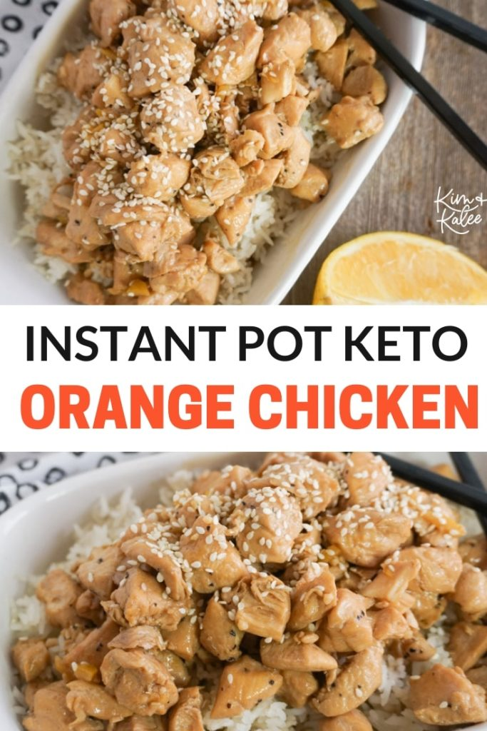 instant pot orange chicken recipe keto friendly