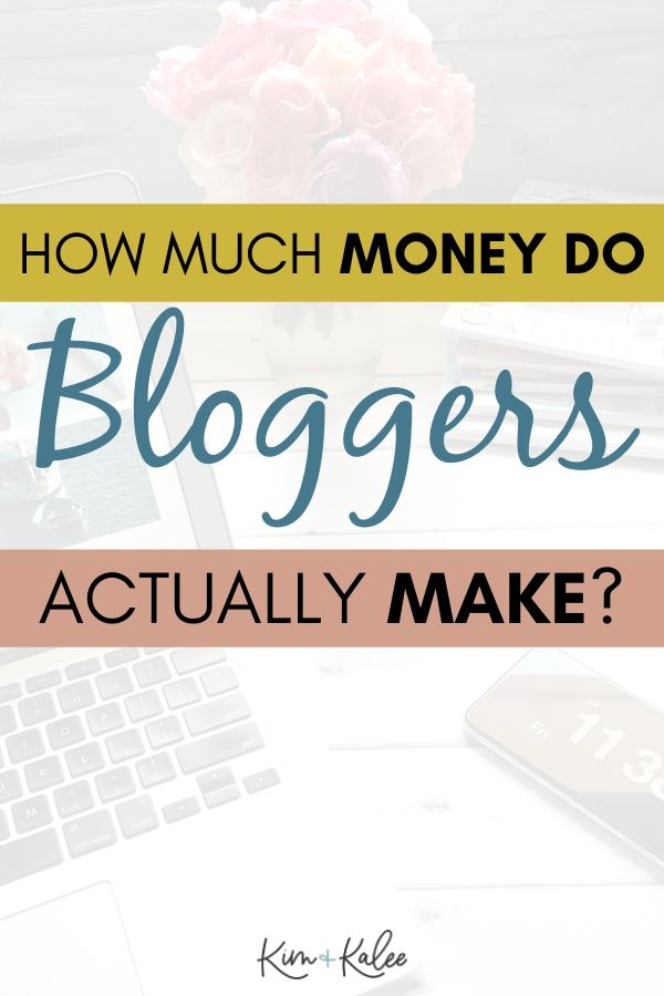 Photo that says How much do bloggers really make?