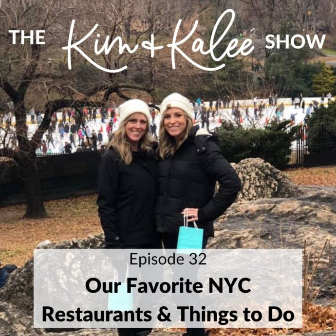 Episode cover for Episode 32: Our Favorite NYC Restaurants & Things to Do