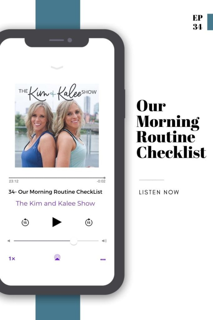 Our Morning Routine Checklist Podcast