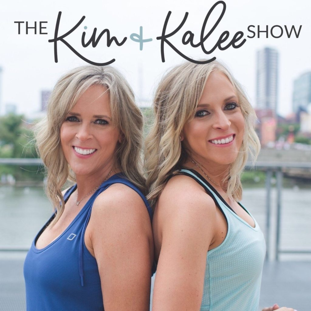 The Kim and Kalee Show Podcast Art