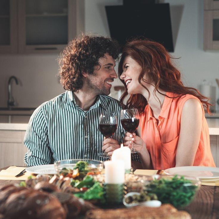 couple enjoying a Romantic Date Night