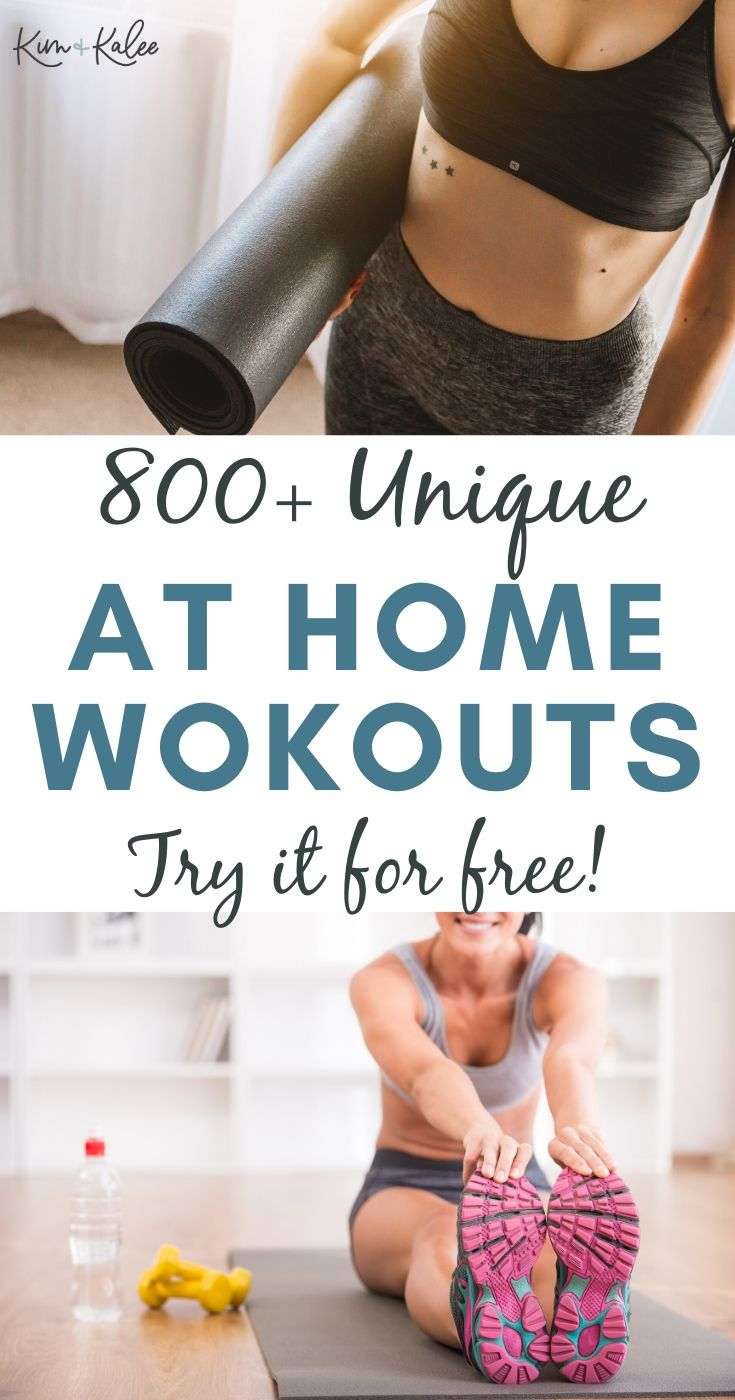 Les Mills Free Trial Collage of Women working out