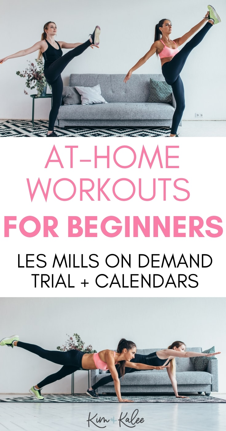 two women doing LES MILLS for Beginners Workouts