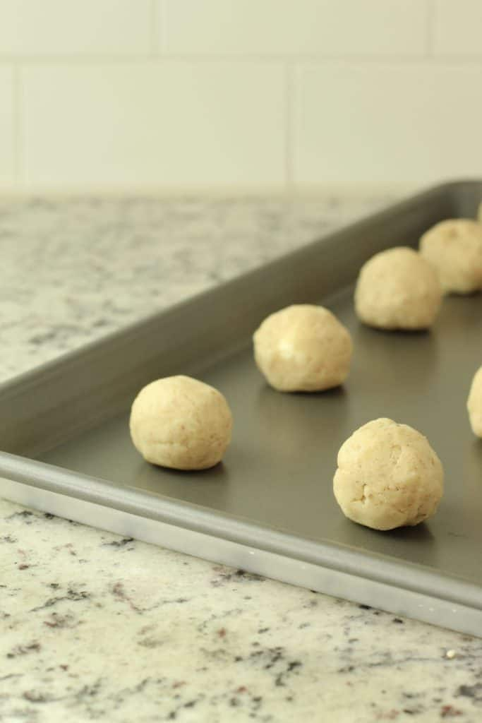 pecan thumbprint cookies batter