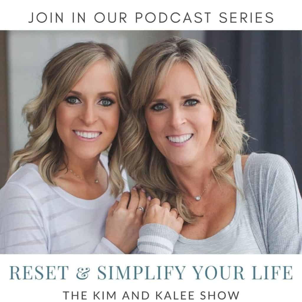 Join our RESET AND SIMPLIFY YOUR LIFE Series