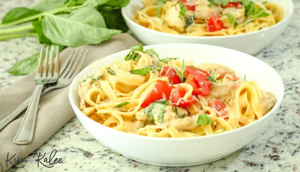 one pot pasta in a bowl