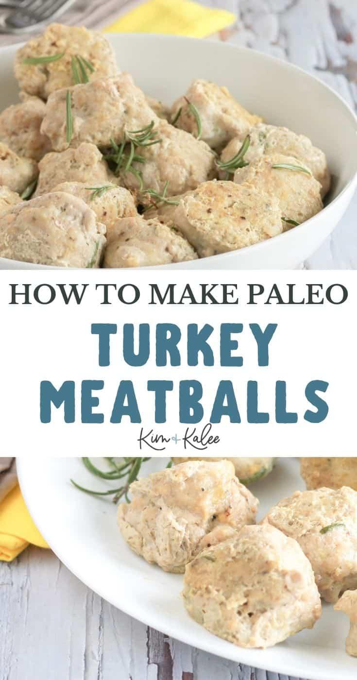 How to make paleo easy turkey meatballs recipe