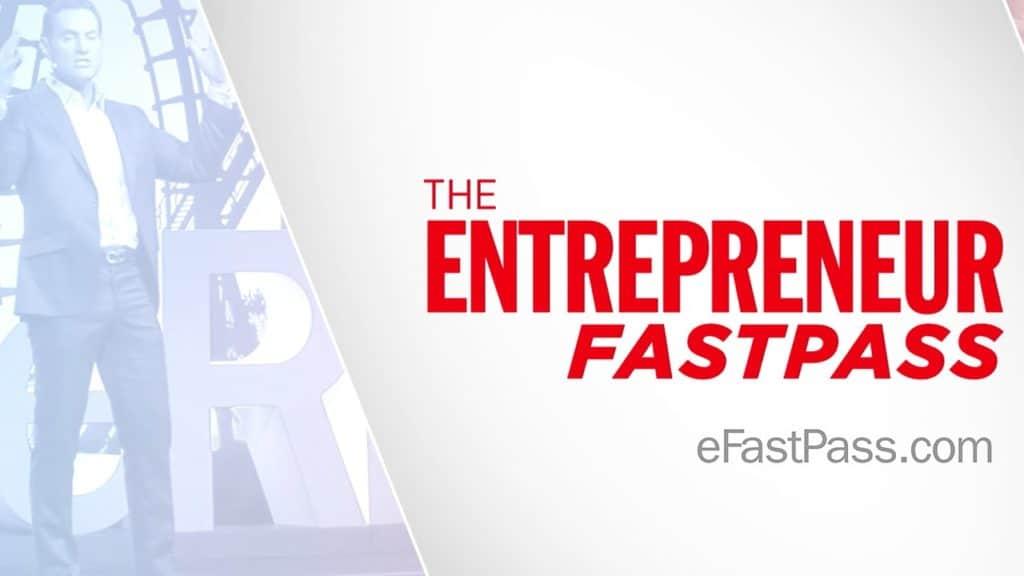 Darren Hardy's Entrepreneur Fast Pass (or eFastPass for short!) logo
