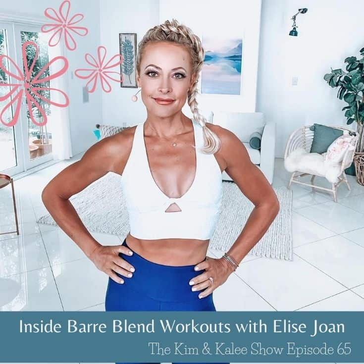 Elise Joan standing confidently with hands on hips in workout clothes