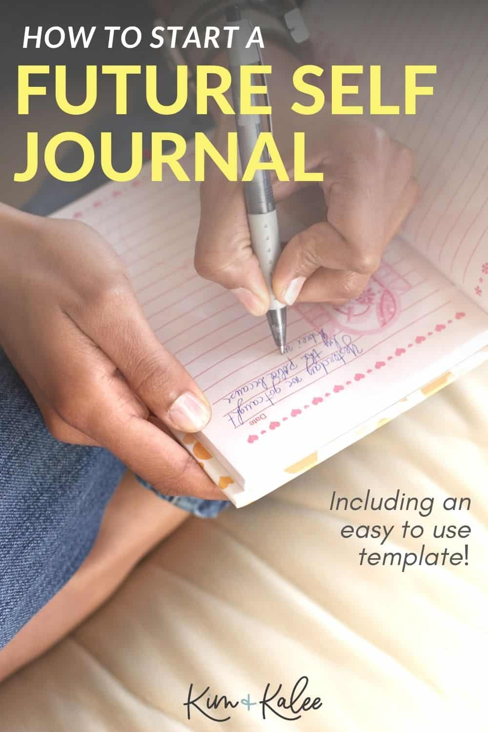 photo of woman writing in a journal