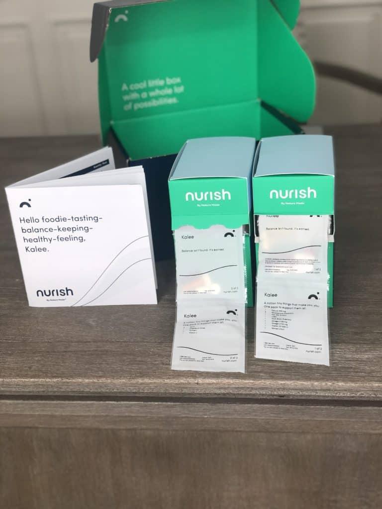 nurish by nature made packs