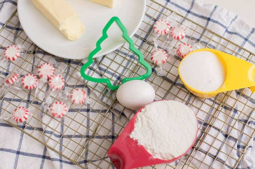 peppermint sugar cookie ingredients