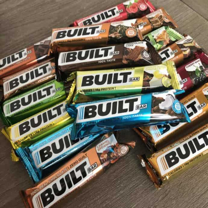 builtbars in a pile