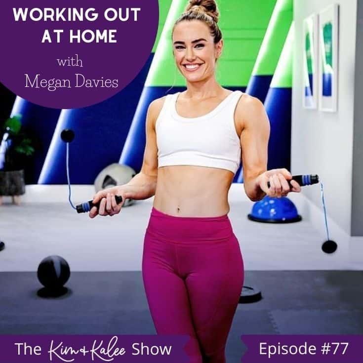 Megan Davies with BOD ropes